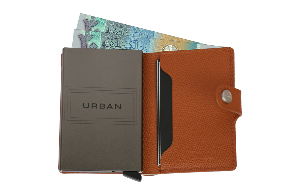 Smart Wallet & Cards Holder - Brown | SMOKE & SODA