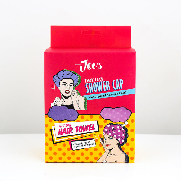 Waterproof Shower Cap & Hair Towel Set - 2 pcs | SMOKE & SODA