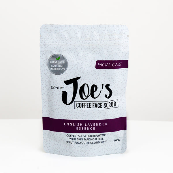 Coffee Face Scrub With English Lavender Essence - 100gm