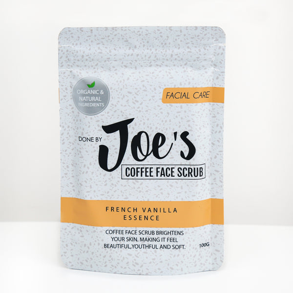 Coffee Face Scrub With French Vanilla Essence - 100gm