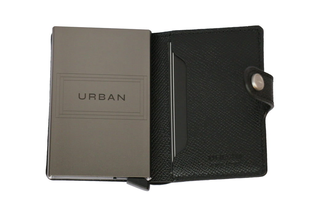 Smart Wallet & Cards Holder - Black | SMOKE & SODA