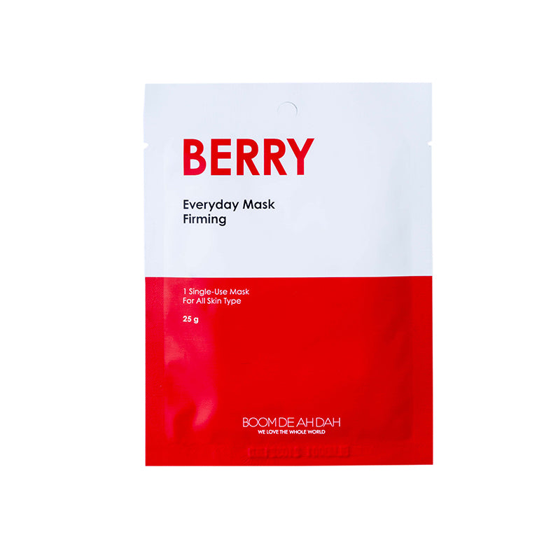 BOOM DE AH DAH EVERYDAY MASKS - BERRY | SMOKE & SODA