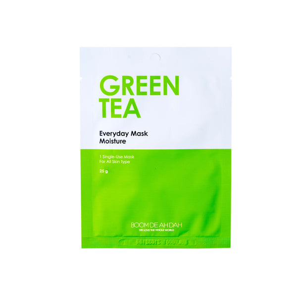 BOOM DE AH DAH EVERYDAY MASKS - GREEN TEA | SMOKE & SODA