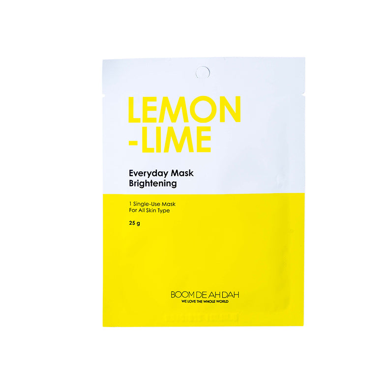 BOOM DE AH DAH EVERYDAY MASKS - LEMON LIME | SMOKE & SODA