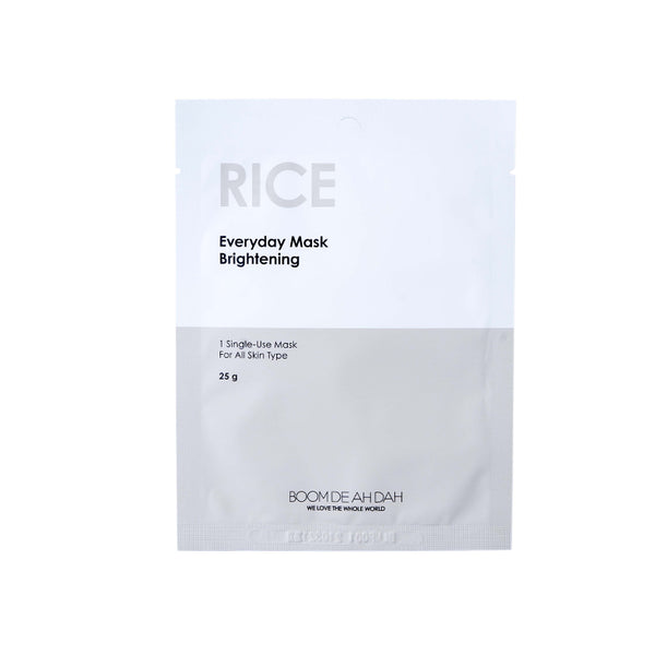 BOOM DE AH DAH EVERYDAY MASKS - RICE | SMOKE & SODA