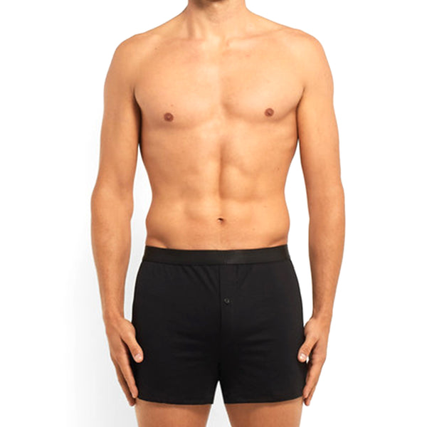 Black Boxer Shorts | SMOKE & SODA