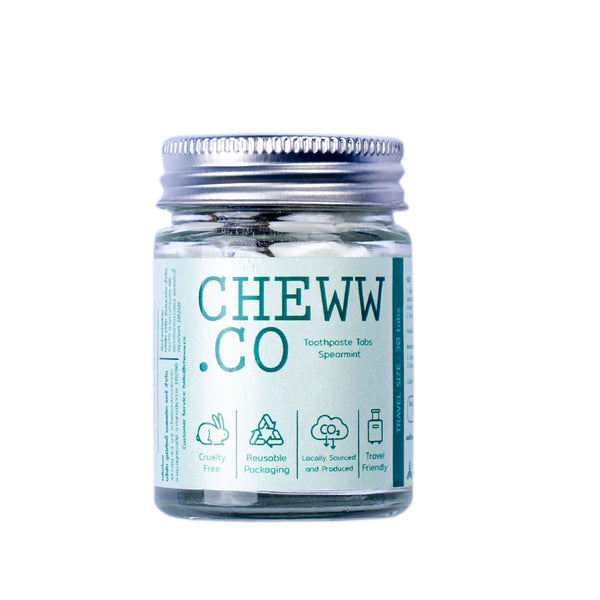 CHEWW.CO Foamy Mint Toothpaste 30 Tabs | SMOKE & SODA