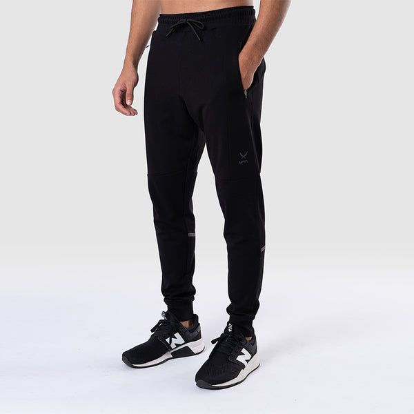 COMBAT Men's Black Tech Fleece Joggers | SMOKE & SODA