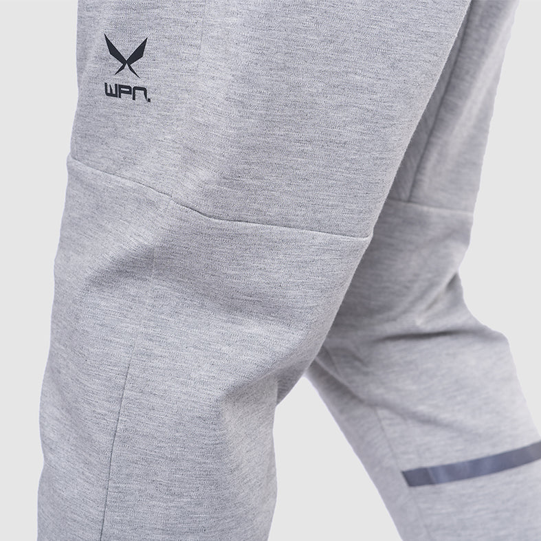 COMBAT Men's Grey Tech Fleece Joggers | SMOKE & SODA