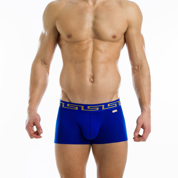 Blue Meander Boxer | SMOKE & SODA