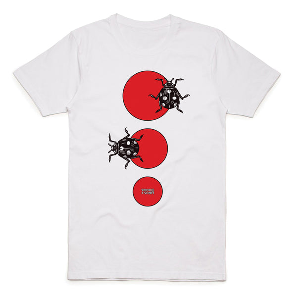 Red Lady Bug T-Shirt | SMOKE & SODA