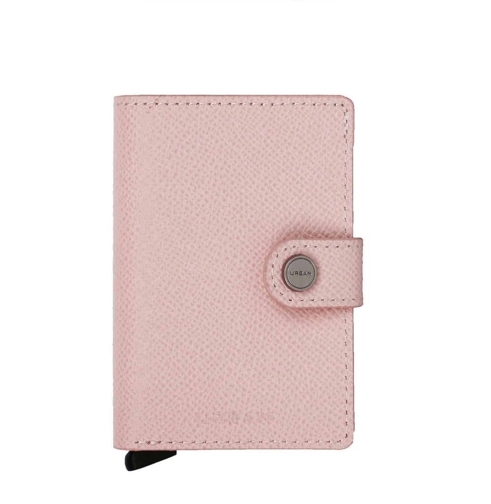 Smart Wallet & Cards Holder - Rose Pink