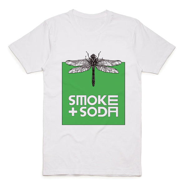 Green Dragonfly T-Shirt | SMOKE & SODA