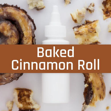 Baked Cinnamon Roll - Liquid Barn