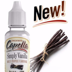 SIMPLY VANILLA - CAPELLA-FLAVOURINGS-Infinite Vaper