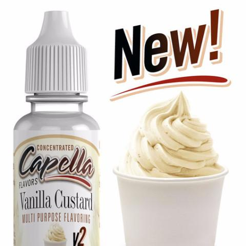 VANILLA CUSTARD V2 - CAPELLA-FLAVOURINGS-Infinite Vaper