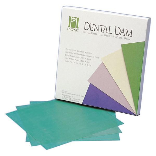 Hygenic Medium Green Rubber Dental Dam - Emerson Dental & Medical Supply