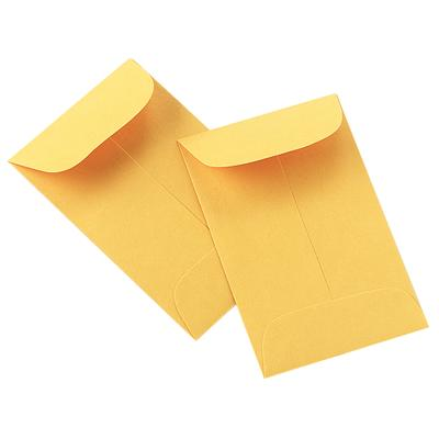 "Dental X-Ray Coin Envelopes Yellow -  2-1/4"" x 3-1/2"" - Emerson Dental & Medical Supply"