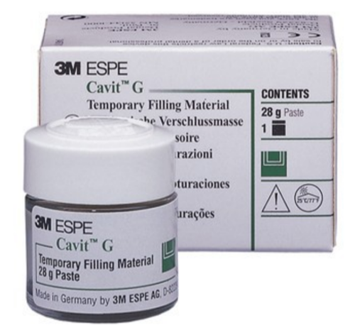3M ESPE Cavit W (White) Temporary Filling Material 28g - Emerson Dental & Medical Supply