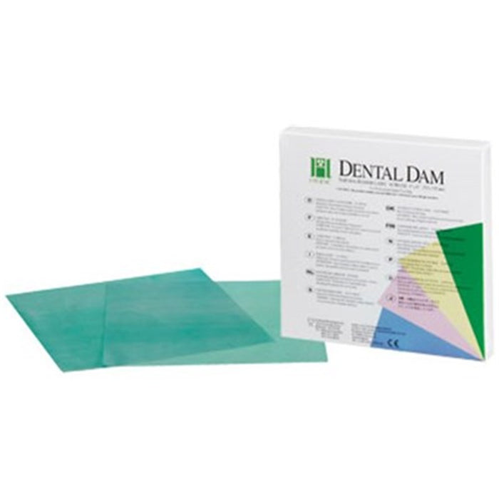 Hygenic Non-Latex Medium Green Dental Dam - Emerson Dental & Medical Supply