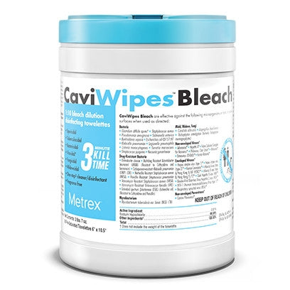 CaviWipes Bleach - Emerson Dental & Medical Supply