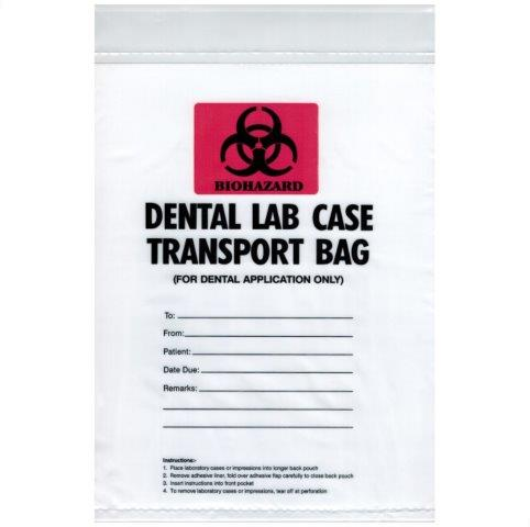 Disposable Lab Transport Bags - Emerson Dental & Medical Supply