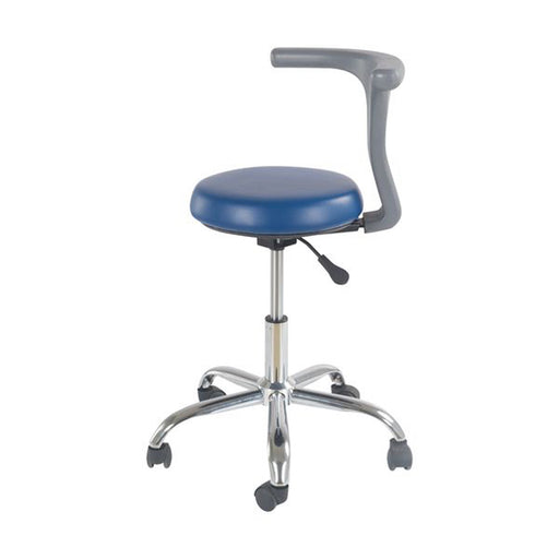PU Leather Adjustable Stool Dental Dentist Chair Hydraulic Rolling Stools - Emerson Dental & Medical Supply