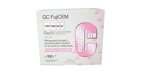 FujiCEM Paste Pak Single Refill - Emerson Dental & Medical Supply
