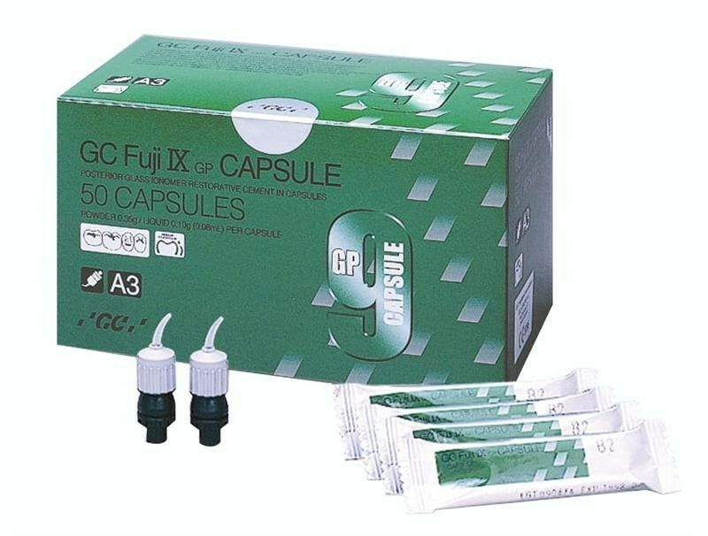 Fuji IX GP Posterior Restorative Capsules Regular A2 - 50 Pack By GC - Emerson Dental & Medical Supply