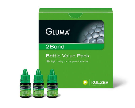 Gluma 2Bond Light Curing Adhesive Bottle - Emerson Dental & Medical Supply