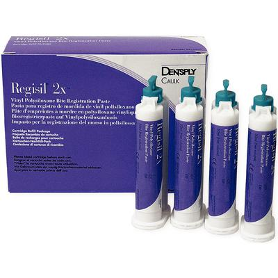 Regisil 2x VPS Bite Registration Paste by Dentsply - Emerson Dental & Medical Supply