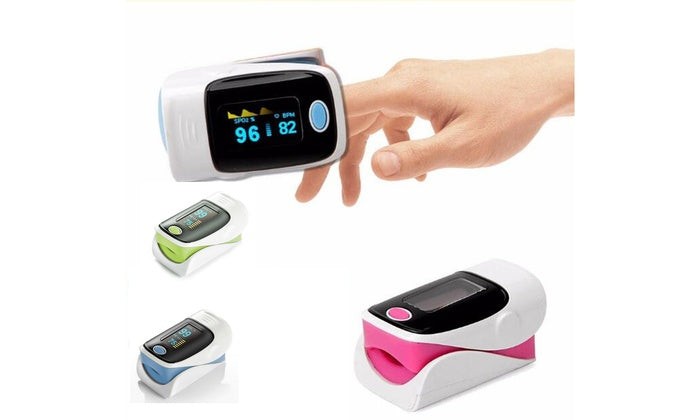 FDA CONTEC Fingertip Pulse Oximeter Blood Oxygen meter SpO2 Heart Rate Monitor - Emerson Dental & Medical Supply