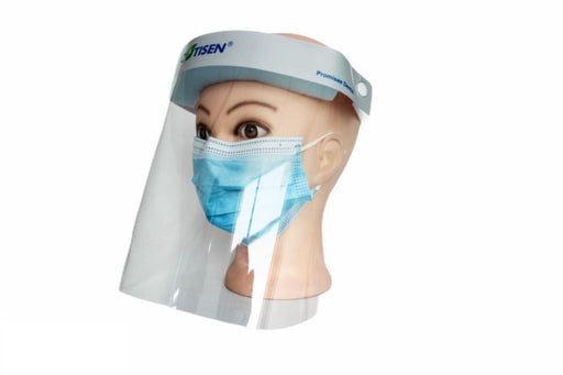 Safety Full Face Shield Reusable Washable Protection Cover Face Mask - Emerson Dental & Medical Supply