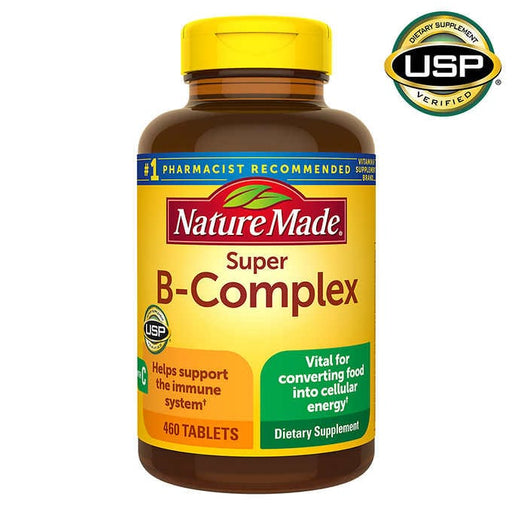 Nature Made Super B-Complex, 460 Tablets - Emerson Dental & Medical Supply