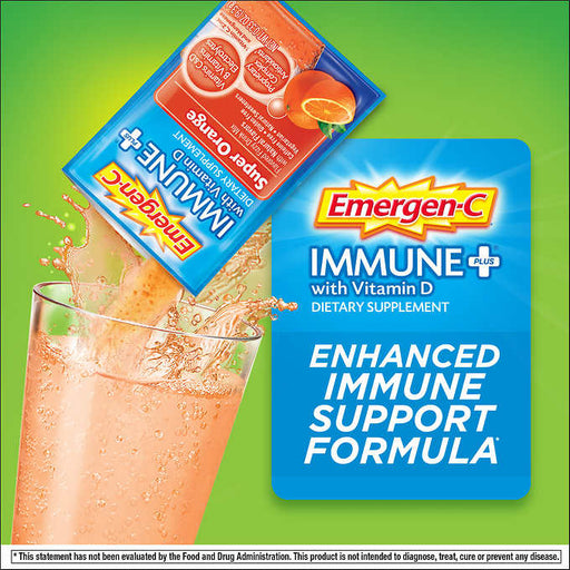 Emergen-C Immune Plus, 70 Packets - Emerson Dental & Medical Supply