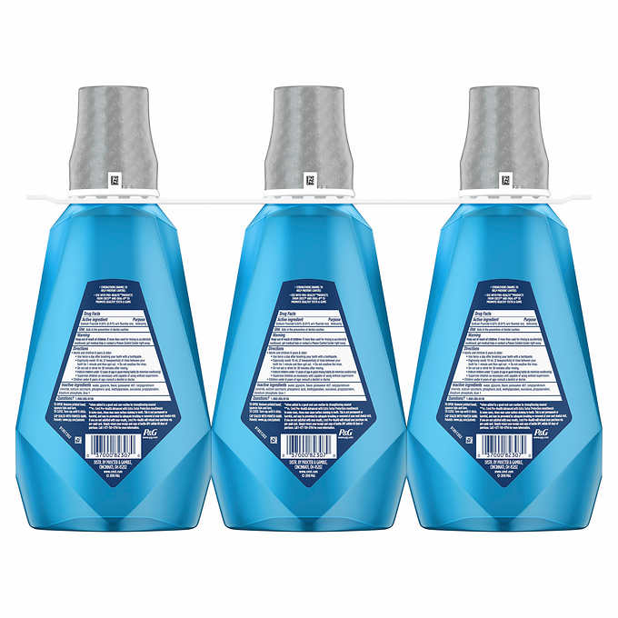 Crest Pro-Health Advanced Mouthwash 1 Liter, 3-count - Emerson Dental & Medical Supply