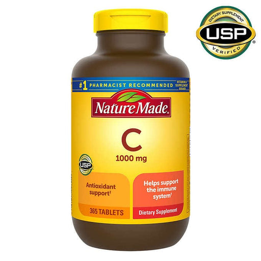 Nature Made Vitamin C 1000 mg., 365 Tablets - Emerson Dental & Medical Supply