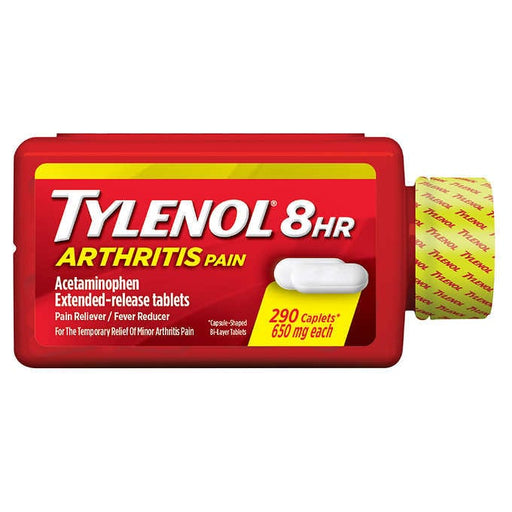 Tylenol 8 Hour Arthritis Pain, 290 Caplets - Emerson Dental & Medical Supply
