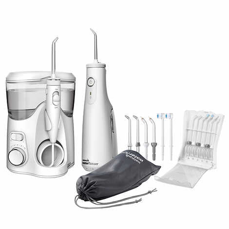 Waterpik Ultra Plus and Cordless Select Water Flosser Combo Pack - Emerson Dental & Medical Supply