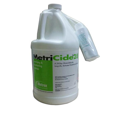 Metrex MetriCide 28 2.5% Glutaraldehyde High-Level Disinfectant - Emerson Dental & Medical Supply