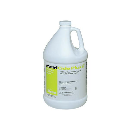 Metrex MetriCide Plus 30 3.4% Glutaraldehyde High-Level Disinfectant - Emerson Dental & Medical Supply