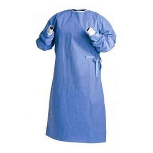 Non-woven Disposable Protective Isolation Gown - Emerson Dental & Medical Supply