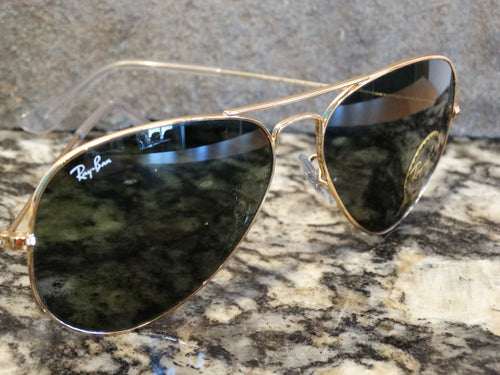 Ray Ban 3025 L0205 58x14 Large Metal Aviator Sunspec