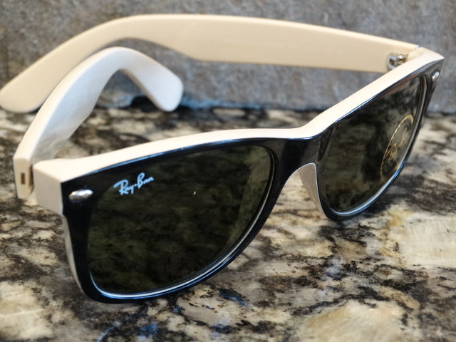 Ray Ban 2132 875 52x18 3N New wayfarer Sunspec