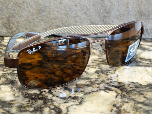 Ray Ban 8316 012/N6 62x18 3P Polarized Sunspec