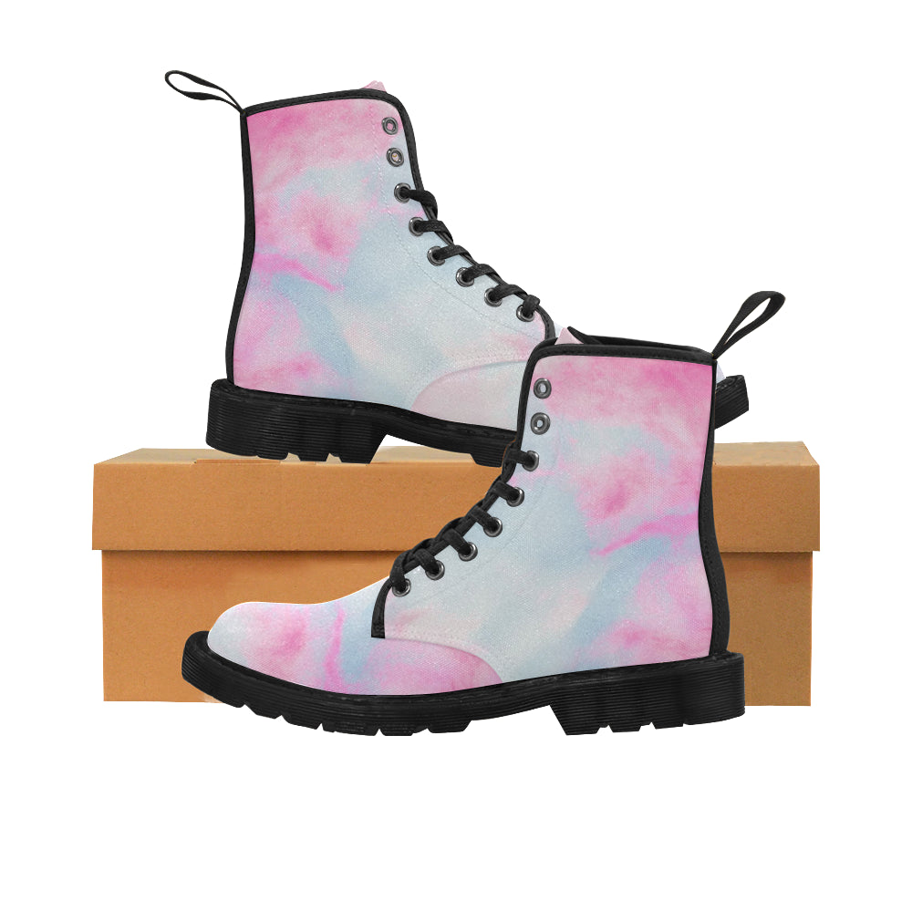 Cash Vision Unicorn Fantasy Boots - Pink Blue