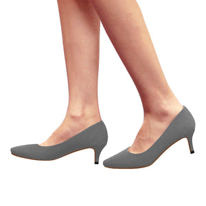 Cash Vision Low Heels - Grey
