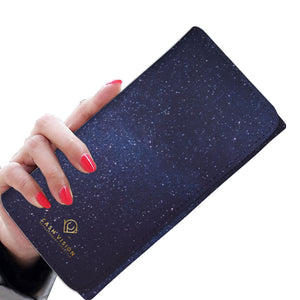 Cash Vision Galaxy Purse - Blue