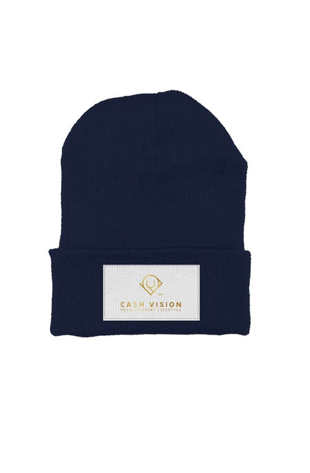 Cash Vision Beanie - Navy Blue