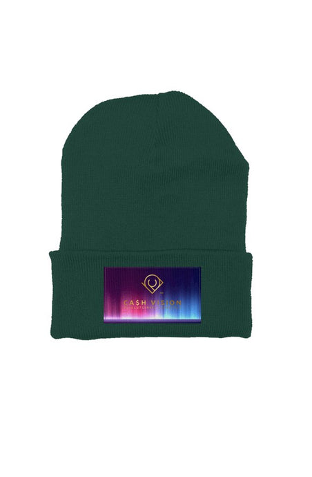 Cash Vision Beanie - Forest Green